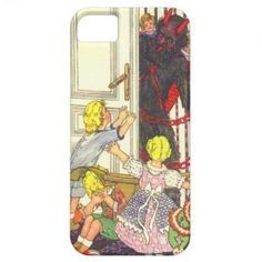 Krampus Kidnapping Bad Children iPhone 5 Case