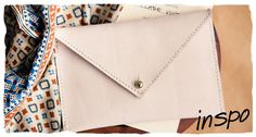 Could be made with paper and brads--reusable envelopes