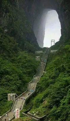Heaven's Gate, China | Pinpanion