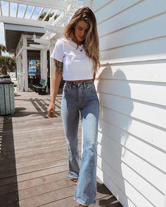 Look Fashion, Autumn Fashion, Fashion Outfits, Womens Fashion, Jeans Fashion, Petite Fashion, Fashion Sale, Spring Fashion, Daily Fashion