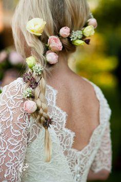 Bride's hair flowers:  California Weddings: http://www.FresnoWedding.Com/