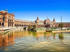 Plaza De Espana Seville, Andalusia, Spain, Europe Stock Photo - Image of historical, landmark: 34195710 Dubrovnik, List Of Cities, Bon Plan Voyage, Seville Spain, Excursion, Flight And Hotel, Sierra Nevada, Andalusia, City Break