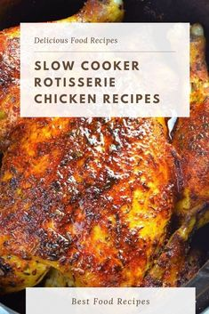 Slow Cooker Rotisserie Chicken Gradual cooker rotisserie fowl recipe is easy and wholesome manner to make homemade rotisserie style chicken! Add some greens and salad and you've quick, clean, delicious and healthy meal for whole circle of relatives. Keto Crockpot Recipes, Meatloaf Recipes, Chili Recipes, Slow Cooker Recipes, Cooking Recipes, Healthy Recipes, Crockpot Meals, Chicken Thigh Recipes, Chicken Salad Recipes
