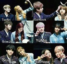 Gfriend And Bts, Kpop Couples, Ailee, Korean Couple, G Friend, My Youth, Kpop Groups, Bts Memes, Taehyung
