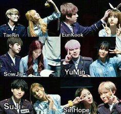 Gfriend And Bts, Kpop Couples, Ailee, Korean Couple, G Friend, My Youth, Kpop Groups, Bts Memes, Couple Goals