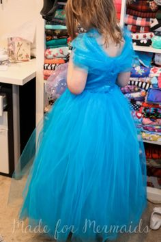 Free Cinderella 2015 pattern for size 5 girls