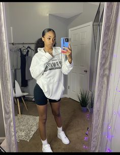 Cute Outfits With Shorts, Swag Outfits For Girls, Chill Outfits, Teen Fashion Outfits, Teenager Outfits, Fashion Kids, Summer Outfits, Baddie Outfits Casual, Cute Casual Outfits