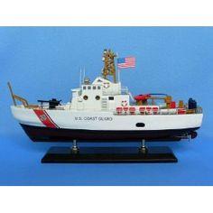 "USCG Patrol Boat 16"" - USCG - Model Ship Wood Replica - Not a Model Kit (Toy)  http://www.howtogetfaster.co.uk/jenks.php?p=B0033E47WM  B0033E47WM"