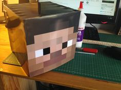 Máscaras de Minecraft para Imprimir Gratis.