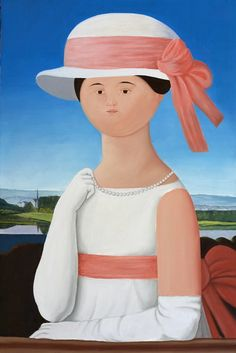 ANTONIO BUENO  1918-1984    Mademoiselle-Riviere - Omaggio a Ingres