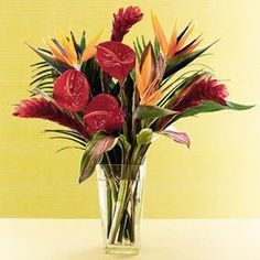 Palm Springs - add more and more tropical flowers with the deluxe or even premium version