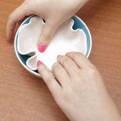 DIY Polymer Clay bowl / vessel - Gemma Patford www.gemmapatford.com