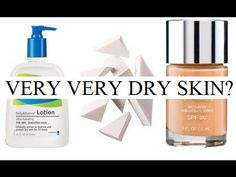 Drugstore/Affordable: Tips for Applying Foundation/BB Cream for VERY Dry Skin & Demo - YouTube