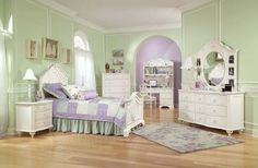 5 piece Enchantment bedroom set by Legacy Kids.