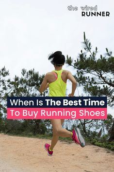 When Is The Best Time To Buy Running Shoes? Running Gear, Running Workouts, Running Training, Trail Running, Running Shoes, Beginners Cardio, Running For Beginners, How To Start Running, Half Marathon Motivation