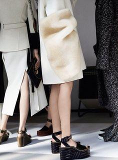 Celine Fall/Winter 2015.. #Celine #Flatforms #Platforms #BTS