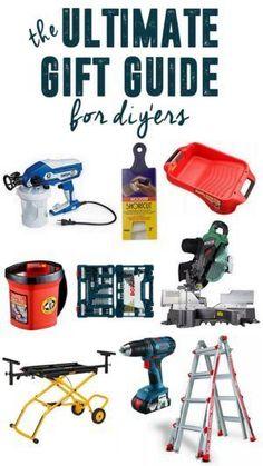 BrightGreenDoor Gift Guide for the DIY'er www.BrightGreenDoor.com