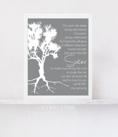 Wedding Gift For Older Sister : Message for Older Sister Popular items for gifts for sister sister ...
