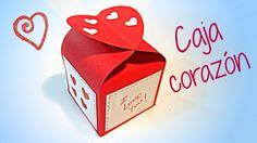 Cómo hacer originales cajitas para regalar en San Valentín, Día de la Madre, como souvenirs en fiestas o cuando quieras, son fáciles de hacer e incluyen la p...