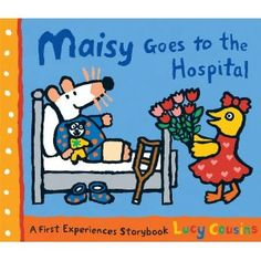 bibliotherapy; books like these help children understand what happens in a hospital before or while they are there, to ease their stress and promote relaxation.