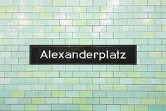 Alexanderplatz Berlin Photography Art Metro by MayleeDuboisPhoto
