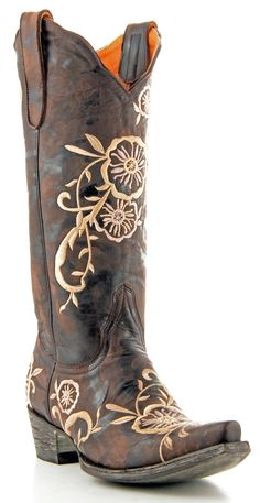 Old Gringo Tyler Boots Galaxia Chocolate - More Boots for prom #IPAProm