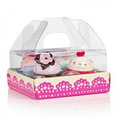 NPW – Fairy Cakes Lip Gloss Set - 4 Lipgloss