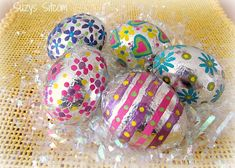 How to make Foil Covered Easter Eggs!
