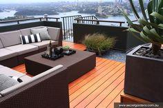 Pergola For Small Patio Refferal: 5030323481 Rooftop Design, Terrace Design, Garden Design, Terrace Ideas, Outdoor Garden Furniture, Outdoor Rooms, Outdoor Living, Outdoor Decor, Wicker Furniture