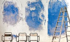 Elitis wallpaper Panoramic - Santorin #wallpaper, #colors , #paint more on www.benedict.be