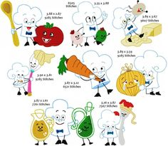 Animated Chefs