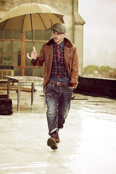 Weather the storm. #raindownremarkably #Zappos