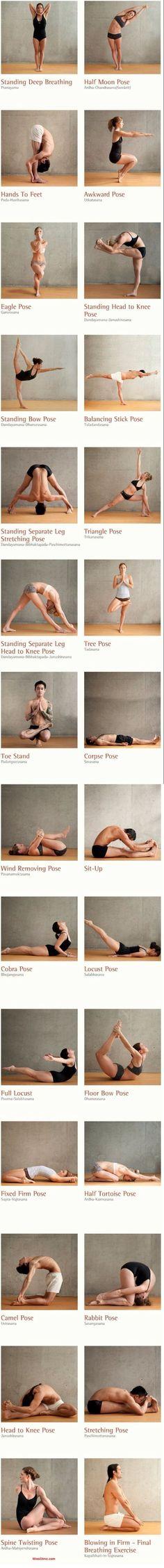 Hot yoga series!