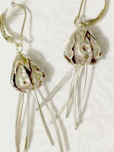 Sterling Roses Earrings by stargazer29609 on Etsy