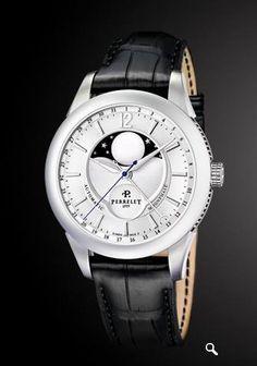 Frost of London Việt Nam xin giới thiệu tới quý vị chiếc đồng hồ Perrelet Moonphase