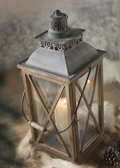 x Lanterns for either flowers or candles Lanterns Decor, Candle Lanterns, Bougie Candle, Lampe Decoration, Winter House, Back To Nature, Oil Lamps, Bird Cage, Fairy Lights