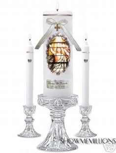 Religious Love favors JESUS CROSS UNITY Wedding by candlegal, $39.99