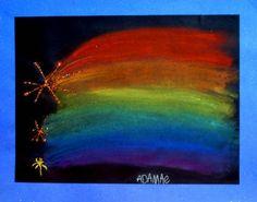 rakettityö/pastellivärit