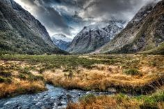 karoly nemeskeri - Google+ - New Zealand, Milford Sound Hwy. Monkey Creek