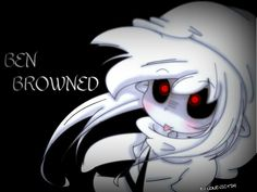 Cute Ben Drowned  | ben drowned by lonevictim digital art drawings paintings macabre ...