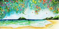Colorido da Diana Moraes, lindooooo!!!!