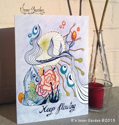 #Motivational #card inspired by #nature at https://www.etsy.com/listing/234353405/eco-greeting-card-handmade-card
