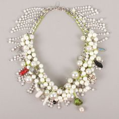 Edgy Pearl Necklace!!!