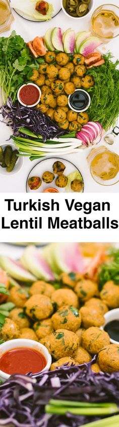 Turkish Vegan Lentil Meatballs are fantastic party foods. These are super easy and inexpensive to prepare and loved by everyone. Nobody is able to stop once they try one.
