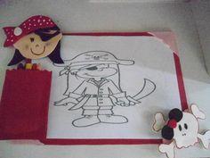 Risque e Rabisque Pirata Menina
