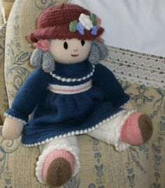 Pattern by Jean Greenhowe Emily. To me she is Millicent.