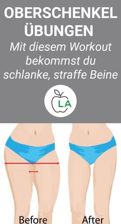 Mit diesen Übungen wirst du am Oberschenkel abnehmen und deine Beine gezielt st… With these exercises you will lose weight on the thigh and tighten your legs. Learn what to look out for when exercising to perfectly shape your thighs… Continue Reading → Fitness Workouts, Easy Workouts, Fitness Diet, Health Fitness, Enjoy Fitness, Fitness Women, Fitness Routines, Exercise Routines, Health Challenge
