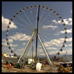 Towering 200 ft-tall, the Great Smoky Mountain Wheel sits at the foot of the most visited National Park in the US. As the center piece of The Island in Pigeon Forge