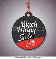 Black Friday sale promo department store template. Black Friday banner. Vector illustration. - stock vector