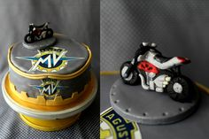 MV Agusta cake (chocolate peanut butter)